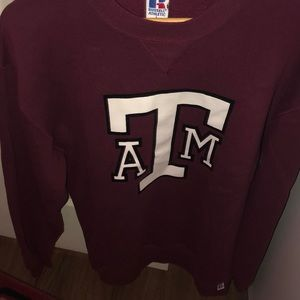Texas A&M crew neck